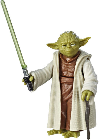 Star Wars Galaxy of Adventures Figurine Yoda et mini bande dessinée