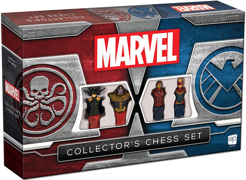 Marvel collectible chess set