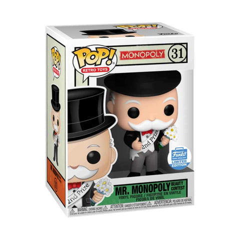 Mr. Monopoly Beauty Contest Funko Pop - Funko Shop Exclusive