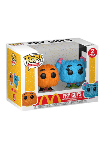 McDonald's Fry Guy Pop! Vinyl Figure 2-Pack