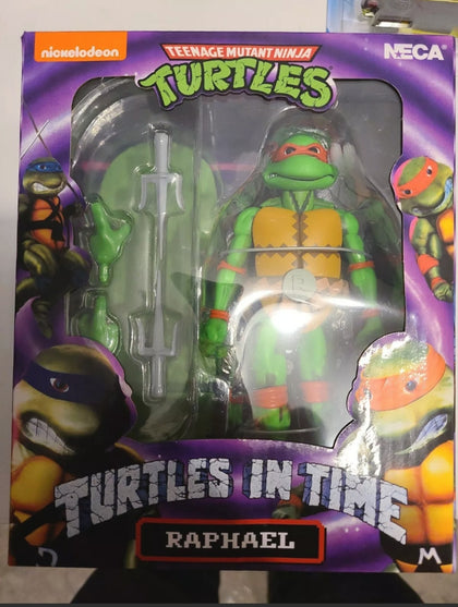 NECA - Turtle in Time - TMNT Raphael Figurine 7 pouces