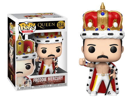 Queen Freddie Mercury King Pop! Vinyl Figure