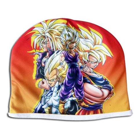Dragon Ball Z Super Saiyans Fleece Beanie Tuque