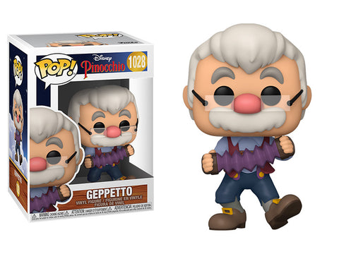 Pinocchio Geppetto with Accordion Pop! Funko Pop!