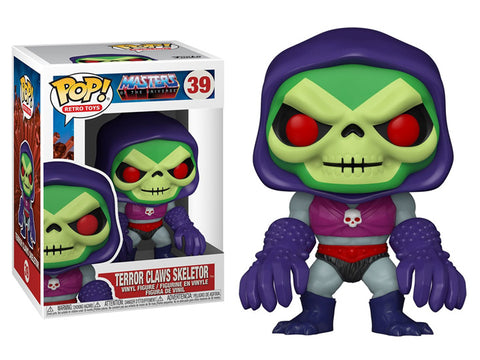Masters of the Universe Skeletor with Terror Claws Pop!