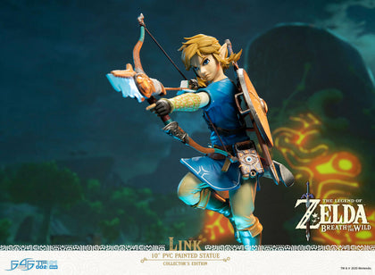 The Legend of Zelda: Breath of the Wild Link Collector's Edition Status