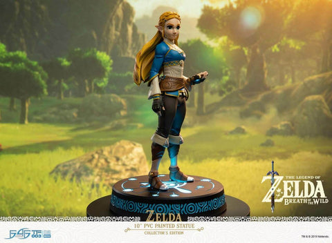 The Legend of Zelda: Breath of the Wild Zelda Statut Édition de Collection