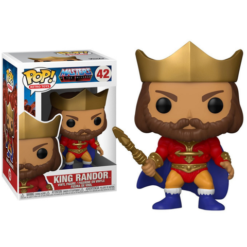 MOTU Masters Of The Universe King Randor Funko Pop