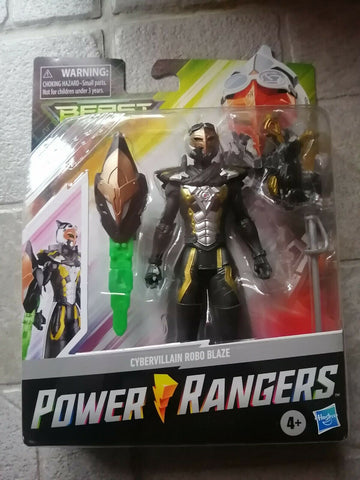 Power Rangers Beast Morphers Cybervillain Robo Blaze 6 pouces
