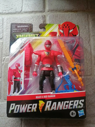 Beast X Red Power Rangers Beast Morphers 6""