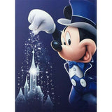Diamond Painting Mickey Magicien 30x40