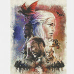 Diamond Painting Games of Thrones 30x40