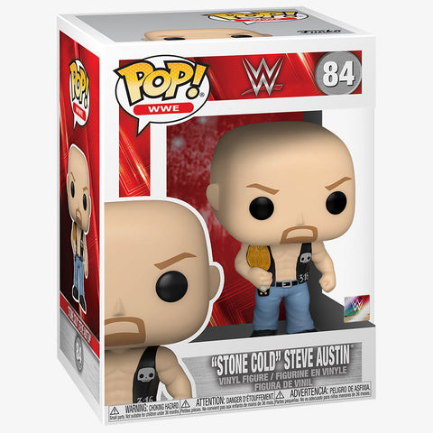 WWE Stone Cold Steve Austin with Belt Funko Pop!