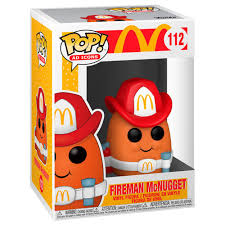 Firemen Nugget Mcdonald Funko Pop!