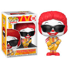 Rock Out Ronald Mcdonald Funko Pop!