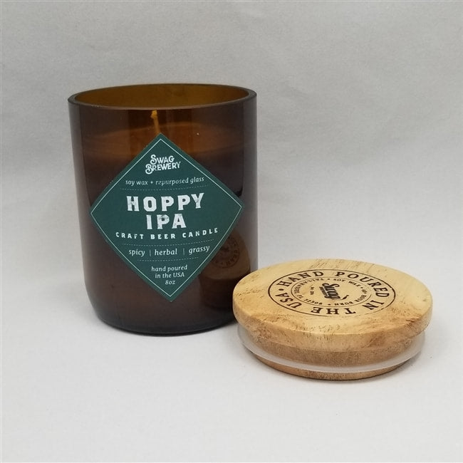 HOPPY IPA CRAFT BEER CANDLE