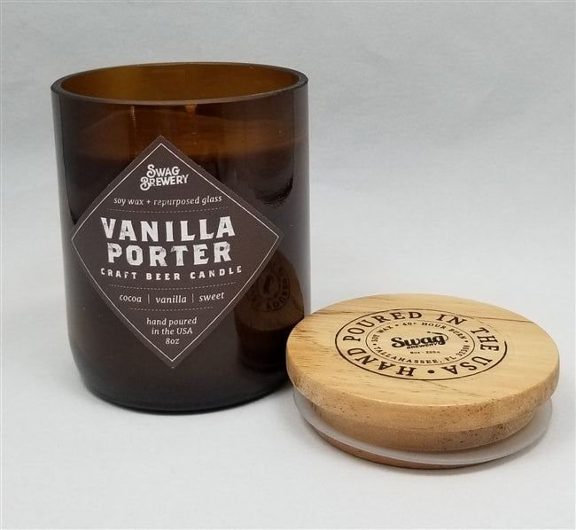 VANILLA PORTER CRAFT BEER CANDLE