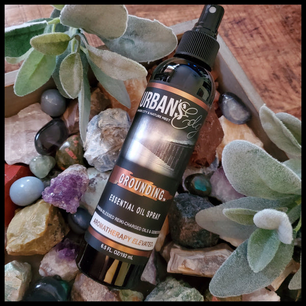 GROUNDING ESSENTIAL OIL SPRAY