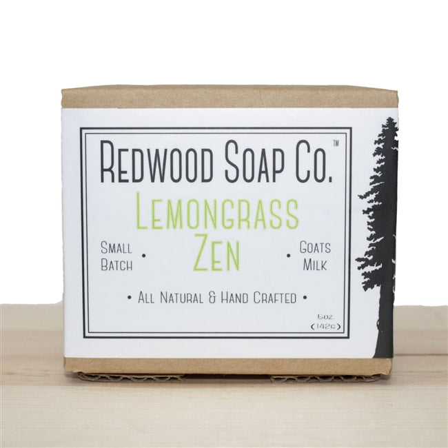 LEMONGRASS ZEN GOATS MILK SOAP BAR