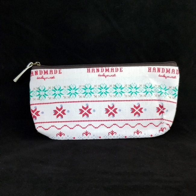 HANDMADE PATTERNED CLUTCH