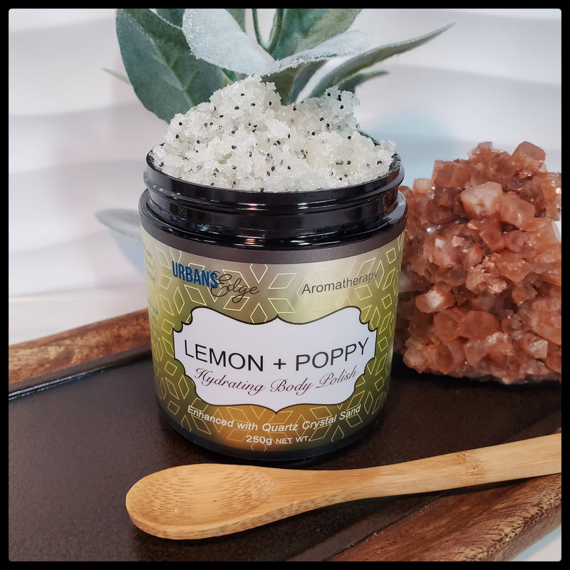 LEMON + POPPY BODY POLISH