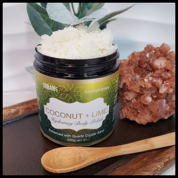 COCONUT + LIME BODY POLISH
