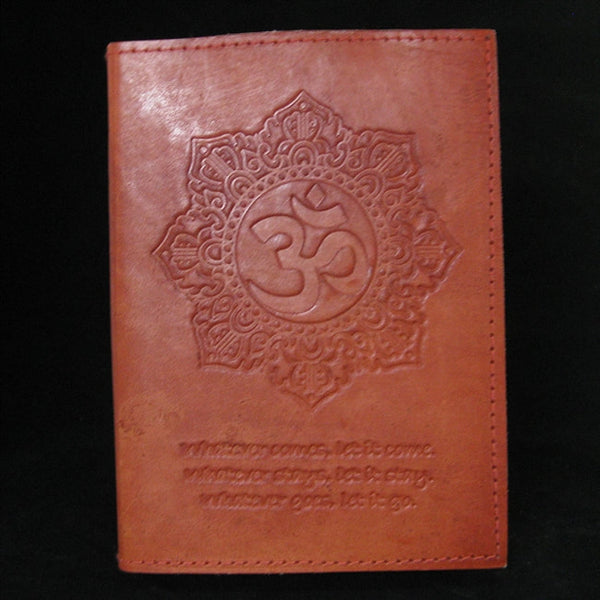 OM REFILLABLE HANDMADE LEATHER JOURNAL