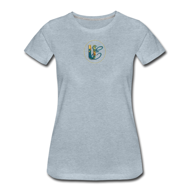 Women's Premium T-Shirt - heather ice blue
