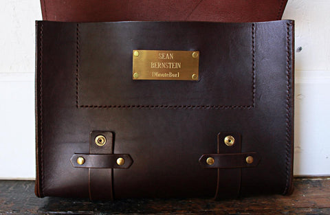 custom messenger bag sustainable leather shop toronto made in canada fashion