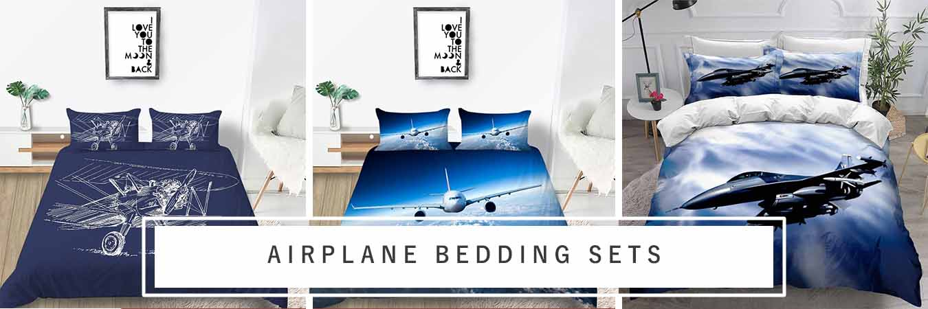 Airplane Bedding Set