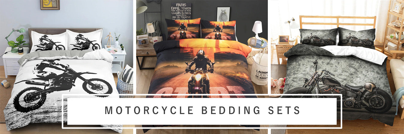 Motorcycle Bedding