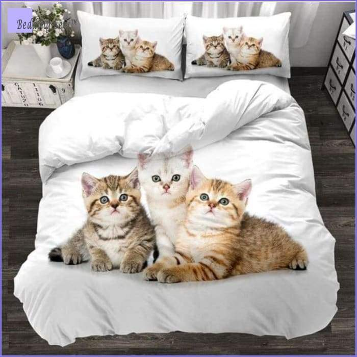 3 Kittens Bedding