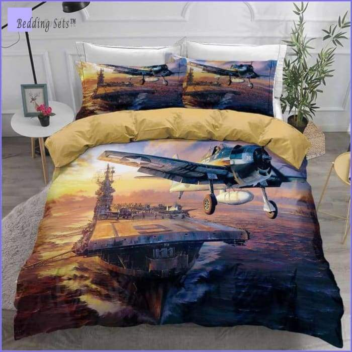 Aircraft Carrier Bedding
