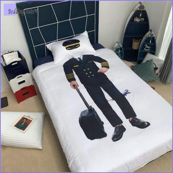 Airplane Pilot Bedding