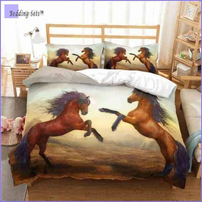 Arabian horses Bedding Set - Bedding-Sets™
