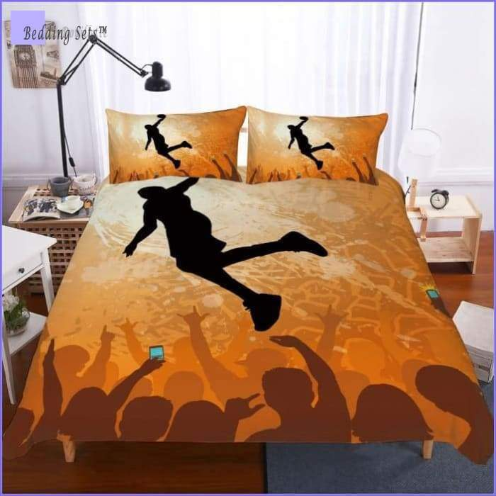 Basketball Bed Set - frenzied crowd