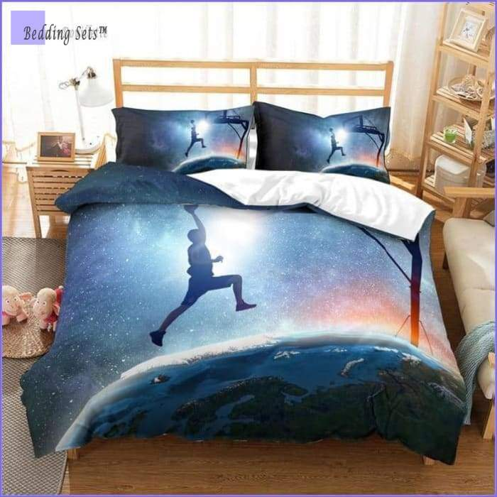 Basketball Bed Set - On the Moon