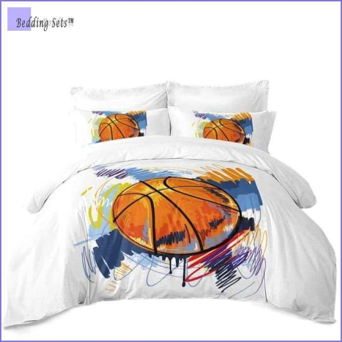 Basketball Bed Set - Paint