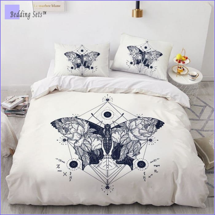 Boho Bed Set - Butterfly