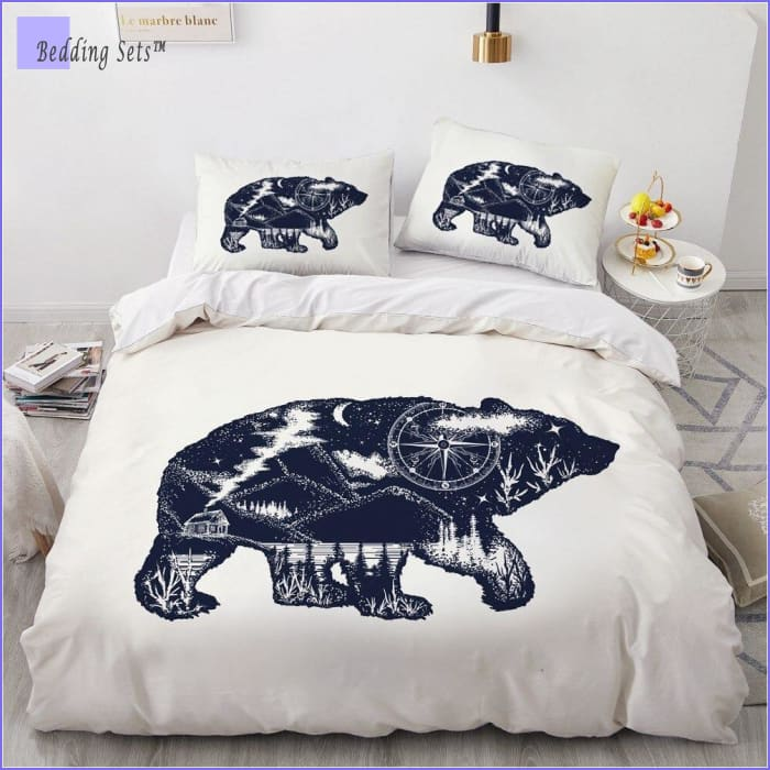 Boho Bed Set - Polar Bear