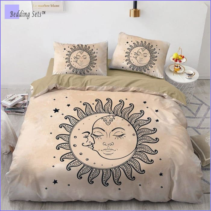 Boho Bed Set - Sun & Moon