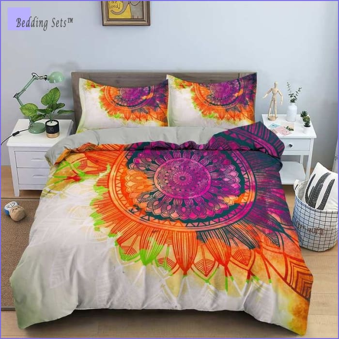 Boho Bedding Set - Color Festival