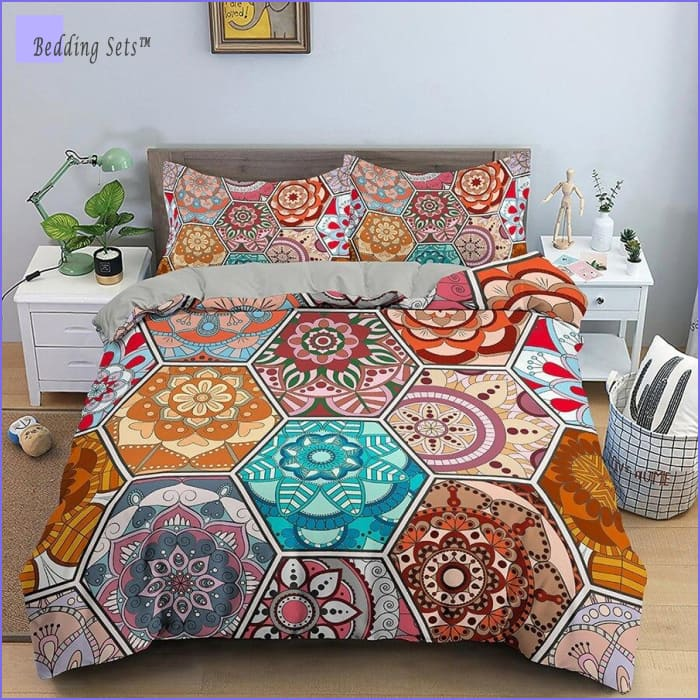 Boho Bedding Set - Colors of Life