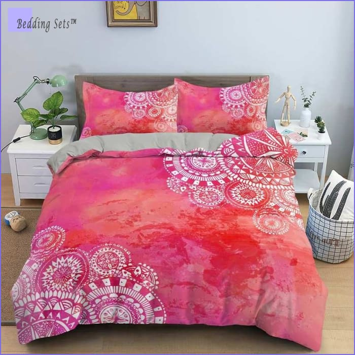 Boho Bedding Set - Indian Sunrise