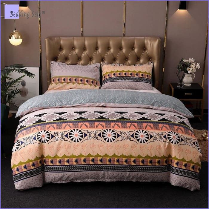 Boho Bedding Set - Safran