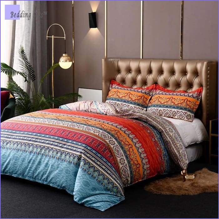 Boho Twin Bedding Set