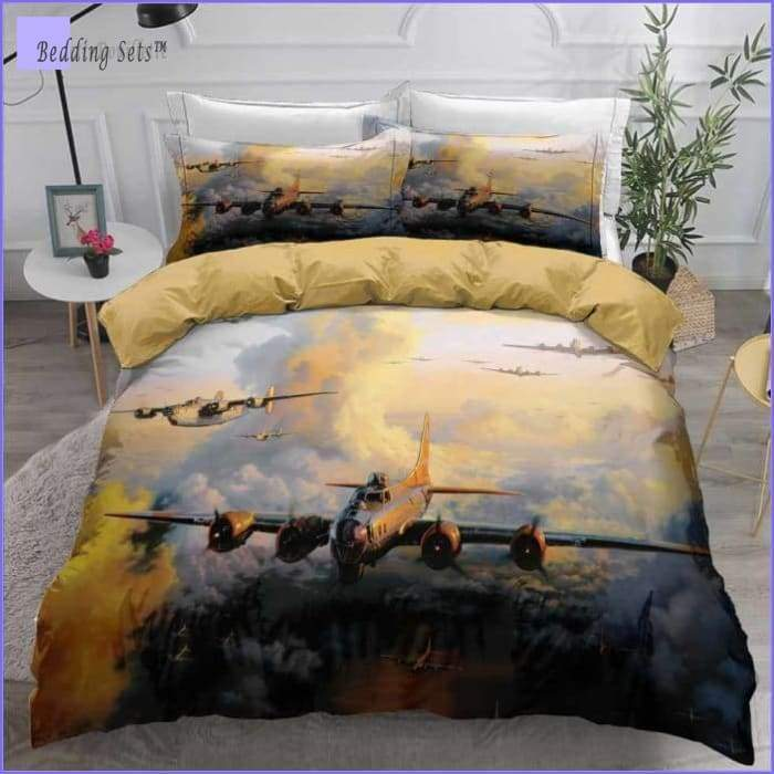 Bomber Aircraft Bedding