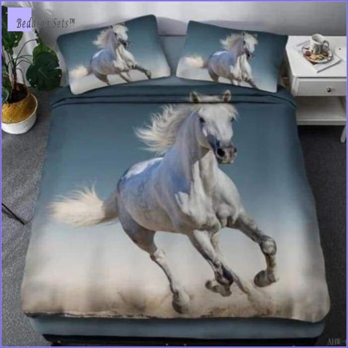 Camargue Horse Bedding Set - Bedding-Sets™