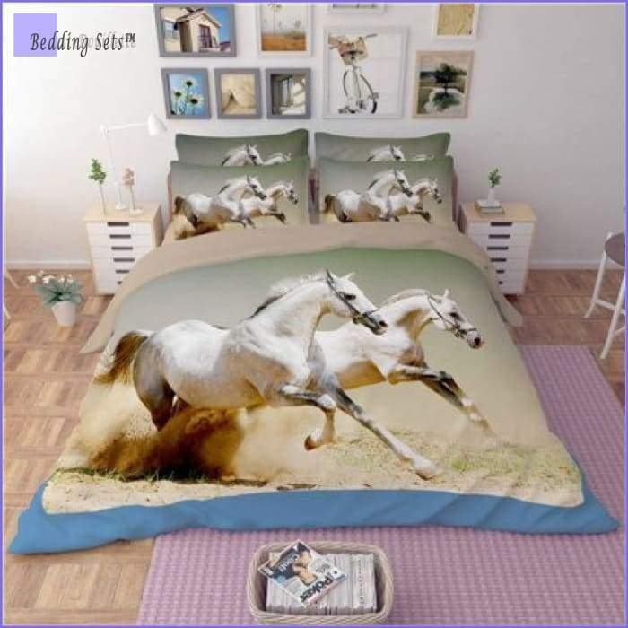 Camargue Horses Bedding Set - Bedding-Sets™