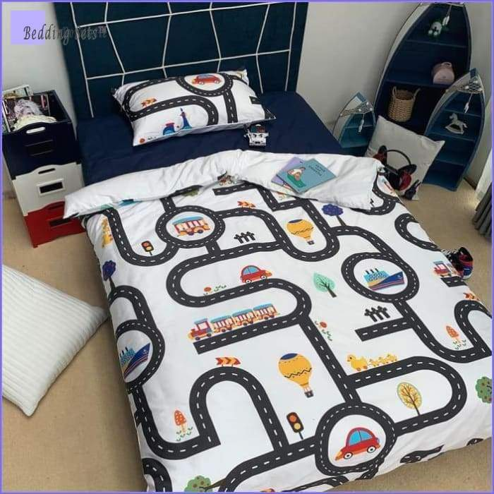 Car Bedding - Racetrack